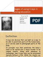 Disadvantages of Using X-rays in Nursing Education