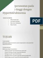 Asuhan Keperawatan Pada Bayi Resiko Tinggi Dengan Hyperbilirubinemia PPT