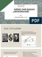 Bab 2. Sifat Partikel Dari Radiasi Elektromagnet