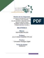 Convertidor Analogico Digital