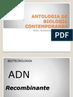 Antologia de Biologia Contemporanea Adn