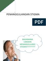 Penanggulangan Stigma