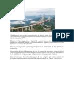 China Inauguró Este Jueves El Puente Más Alto Del Mundo