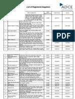 List of Reg Suppliers_tcm13-47844