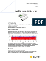 Application Note - Measuring KVp on an AMX 4 or 4plus-2013!10!30