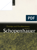 Schopenhauer, A - Parerga and Paralipomena, Vol. 2 (Oxford, 1974)
