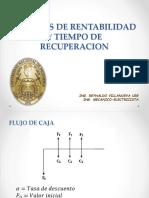 2.- Análisis de Rentabilidad y Tiempo de Recuperación