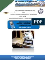 Bases Final Concurso de Programacion en Hp Prime