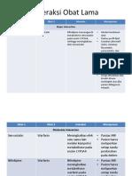 Interaksi Obat Lama + amlo vs nife
