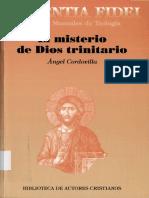 Cordovilla Angel - Sapientia Fidei 36 - El Misterio De Dios Trinitario.pdf
