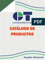 Catálogo Concretera Total