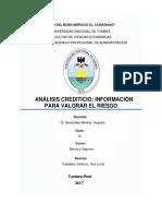 Trabajo Completo de  Analisis Crediticio.docx