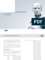 Windows Exploitation in 2014