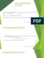 1 Algebra Abstracta Estructuras Homorfismo Isomorfismo