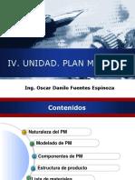 Plan Maestro de La Produccion