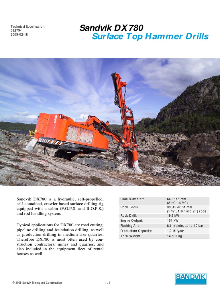 DX780-R | Drill | Drilling