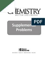 Glencoe 2001 Supplemental Problems