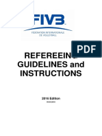 20160303-FIVB VB Refereeing Guidelines and Instructions