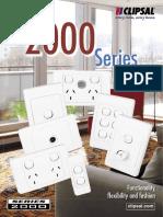 Clipsal 2000 Series