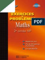 Exercices & Problèmes Maths 2e Année MP