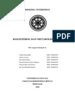 BIOKIMIA VETERINER II Metabolisme Kolesterol Paper