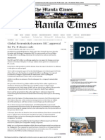Global Ferronickel Secures SEC Approval for P2-B Shares Sale - The Manila Times Online