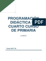 Programación 4º 2017-18