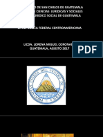 La Federacion Centroamericana