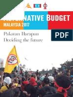 Alternative Budget Malaysia 2017 Pakatan Harapan