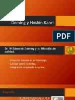 Deming y Hoshin Kanri