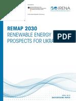 IRENA REmap Ukraine Paper 2015