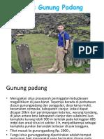 Situs Gunung Padang Rismawati