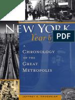 Jeffrey Kroessler -New York, Year by Year