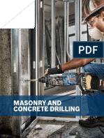 Bosch Masonry and Concrete Drilling