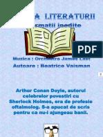 ISTORIA LITERATURII1