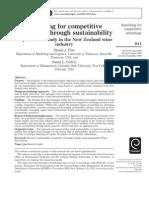 NZ-Competitive Advantage Through Sustainability
