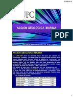 Accion Geolog Marina