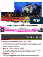 2_WR2-Manajemen-PNS_PP No 11 Tahun 2017