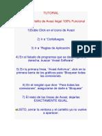 TUTORIAL avast7.docx