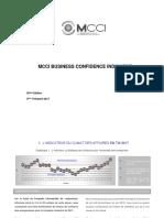 MCCI BUSINESS CONFIDENCE INDICATOR 3e Trimestre 2017