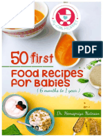 Baby First Food Recipes