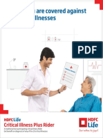Hdfc Life Critical Illness Plus Rider Brochure20161116 07290920170811 090103