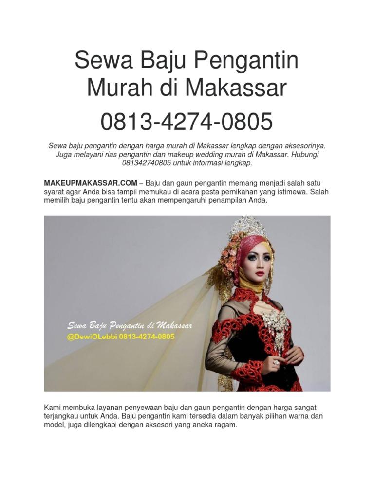 Sewa Baju Pengantin Murah di Makassar - 11
