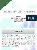 Pengendalian Vektor Penyakit