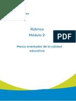 Rúbrica de Evaluación - Módulo 2