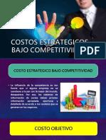 Costos Estrategicos Bajo Competitividad