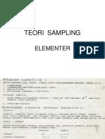 Teori Sampling Elementer