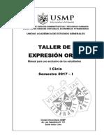 Taller de Expresion Oral