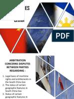 Philippines vs China REPORT
