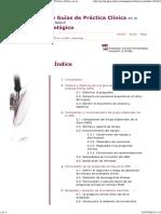 Manual Metodológico de Elaboración de Guías de Práctica Clínica en El Sistema Nacional de Salud